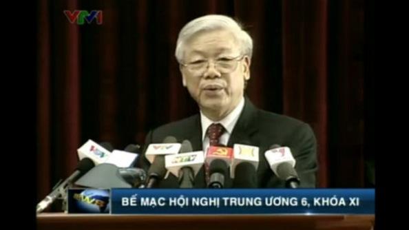 """Tổng """"Lú"""" Nguyễn Phú Trọng"""