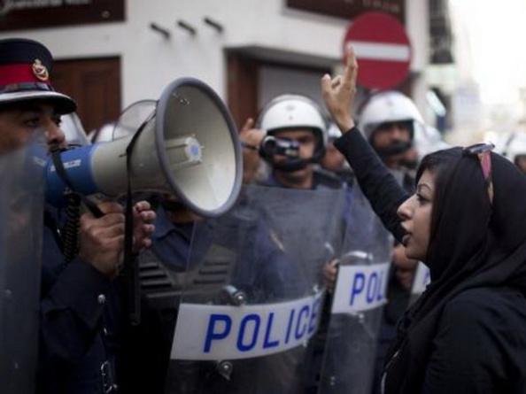 Zainab Al-Khawaja, nhà hoạt động nhân quyền ở Bahrain.