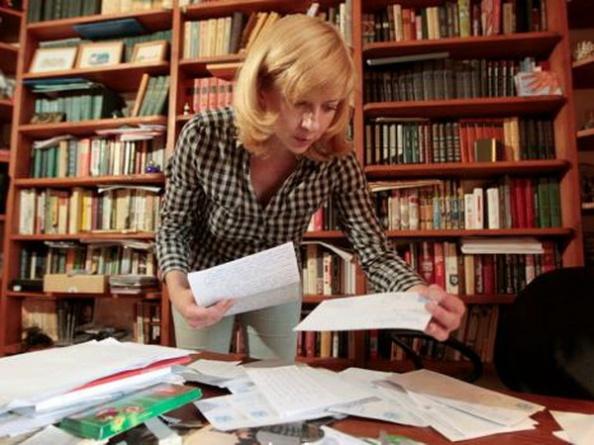 Iryna Khalip, nhà báo và nhà hoạt động ở Belarus.