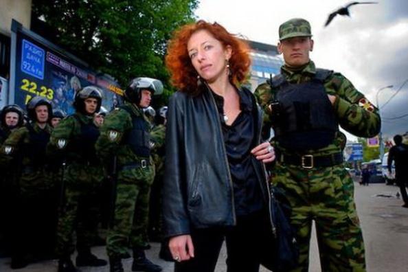 Tanya Lokshina, nhà tranh đấu nhân quyền ở Nga.
