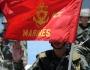 Lực lượng Thủy Quân Lục Chiến của Philippines. (Hình: TED ALJIBE/AFP/Getty Images)