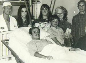 Medal of Honor recipient John Baca receives hospital treatment after suffering wounds in Vietnam in 1969                       COURTESY JOHN BACA